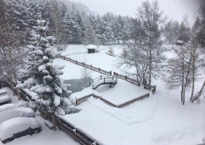 Hotel Notre Maison Vetan inverno
