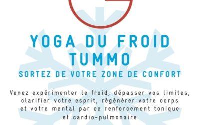 Yoga du froid Tummo du 31 janvier 2021 au 06 mars 2021 Maurice et Patrick Daubard
